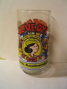 Olive Oyl   Glass