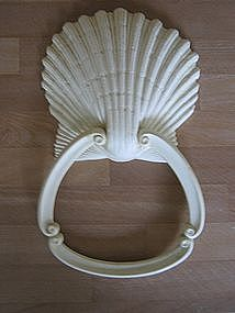 Seashell Towel Ring  SOLD