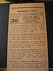 The Brooklyn Institute of Arts & Science 1918 Ticket