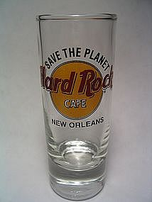 Hard Rock Cafe New Orleans Shot Glass