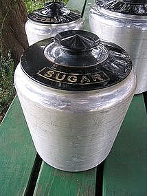 Kromex Sugar Canister