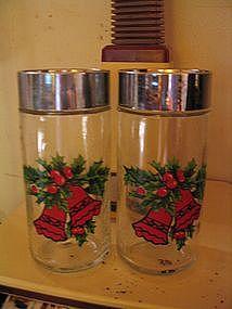 Holly  Salt & Pepper Shakers