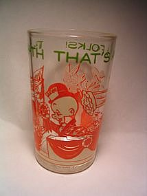 Looney Tunes Glass