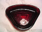 Anchor Hocking Manhattan Ruby Glass