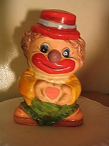 Vintage Clown Bank