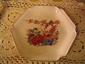 Kutani Oriental Garden Dish