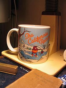 California Raisins Mug