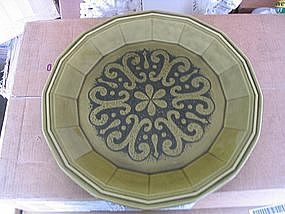 Homer Laughlin Madrid Platter