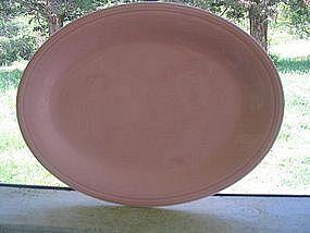 Edwin M. Knowles Pink Platter