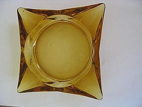 Gold Glass Ashtray