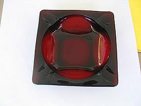Anchor Hocking Ruby Ashtray