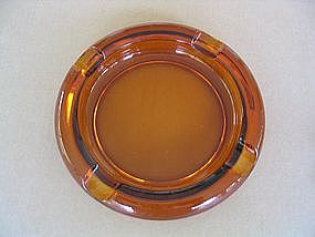 Amber Cigar Ashtray