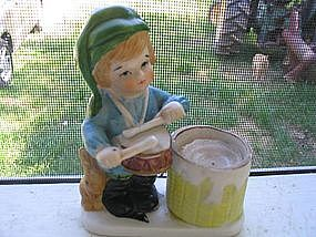 Drummer Boy Candle Holder
