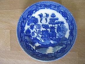 Child's Tea Set Blue Willow Plate