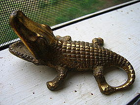 Brass Alligator