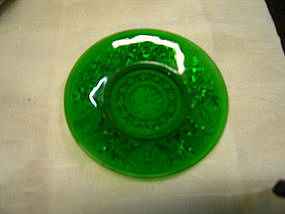 Anchor Hocking Green Sandwich Plate