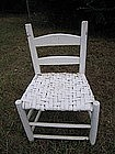 Ladder Back Cane Chair