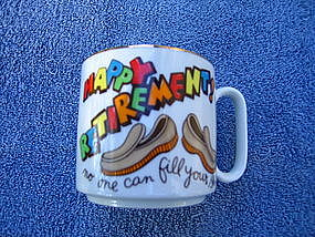 Lefton Retirement Mug