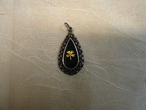Sterling Four Leaf Clover Pendant