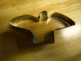 Tin Bird Cookie Cutter