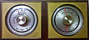 Taylor Barometer Thermometer