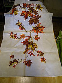 Autumn Leaves Tea Towel