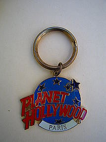 Planet Hollywood Paris Key Ring