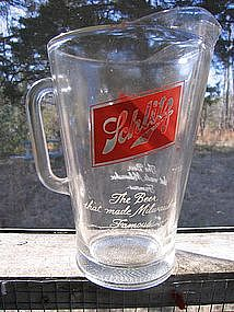 Schlitz Pitcher