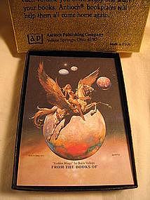 Boris Vallejo Gold Wings Bookplates