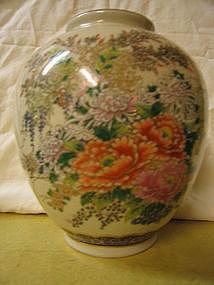 Porcelain Chrysanthemum Vase