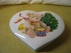 Christopher Stuart Little Drummer Bear Box