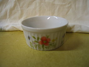 Andrea Country Flowers Ramekin