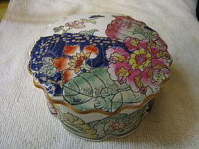 Floral Porcelain Box
