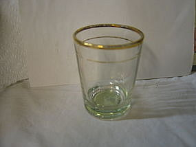 Federal Whiskey Glass
