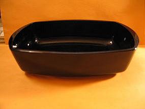 Arcopal Arcoroc Black Dish