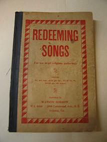 Watson Sorrow Redeeming Songs