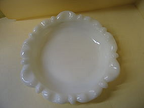 Milk Glass Cigar Ashtray