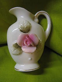 Miniature Rose Pitcher