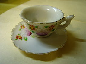 Miniature Cup and Saucer   SOLD
