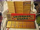 Milton Bradley Cribbage Board
