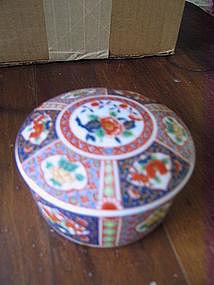Porcelain Imari Box