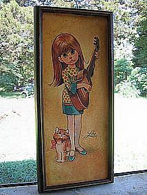 Lee Little Girl Print