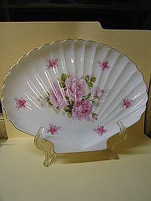 Vintage Porcelain Rose Dish