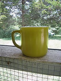 Green Federal Glass Mug
