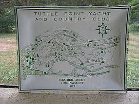 Turtle Point Yacht and Country Club Tray