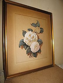 M. Crumpley Rose Print