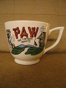 Paw Coffee Mug