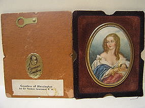 Cameo Creation Countess of Blessington