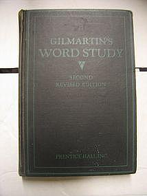 Gilmartin's Word Study
