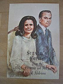 George Wallace Christmas Card